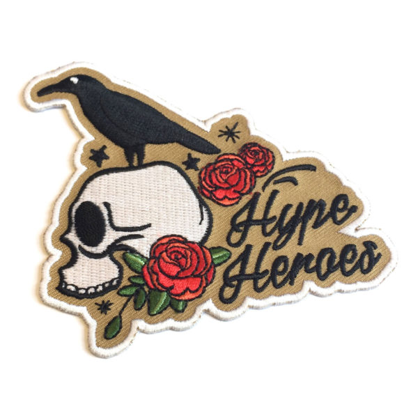 Hype Heroes Skull Badge
